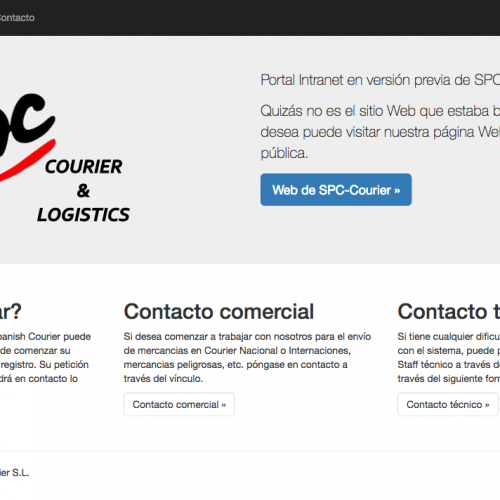 CRM-ERP Spanish Courier